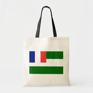 Syria French Mandate, France flag Budget Tote Bag