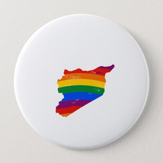 SYRIA GAY PRIDE PINBACK BUTTON