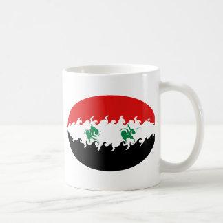 Syria Gnarly Flag Mug
