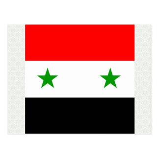 Syria High quality Flag Postcards