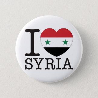 Syria Love v2 Pinback Button