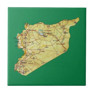 Syria Map Tile