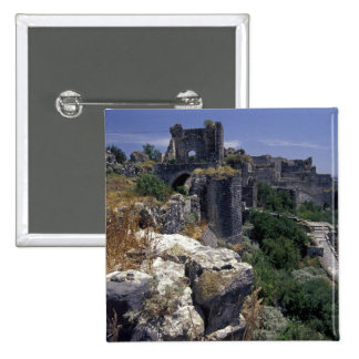 Syria, Marqab Castle, Crusaders castle located Pinback Button