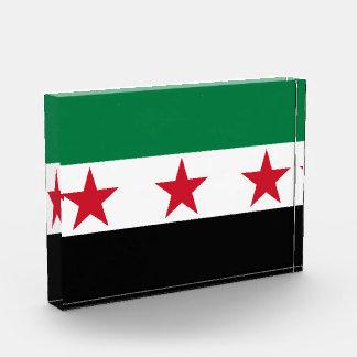 syria opposition acrylic award