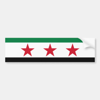 syria opposition bumper stickers