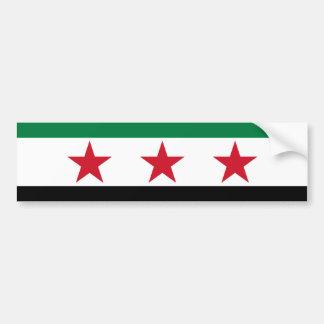 syria opposition bumper sticker