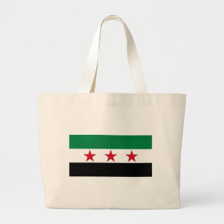syria opposition large tote bag