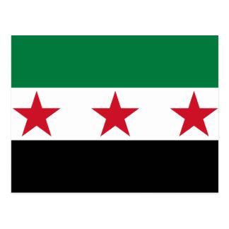 syria opposition postcard