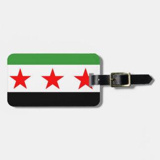 Syria Republic Flag Bag Tag