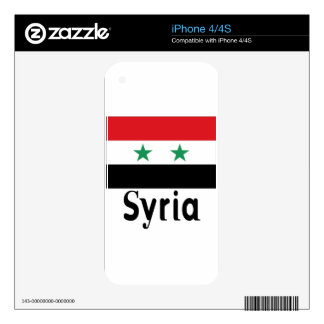 Syria Decals For iPhone 4S