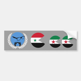 Syria, United Nations Bumper Stickers