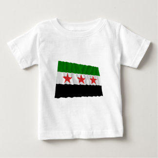 Syria Waving Flag (1932-1958 and 1961-1963) Baby T-Shirt