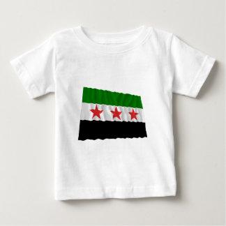 Syria Waving Flag (1932-1958 and 1961-1963) Baby T-Shirt
