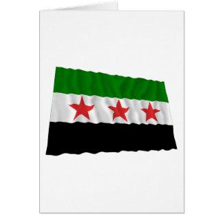 Syria Waving Flag (1932-1958 and 1961-1963) Card