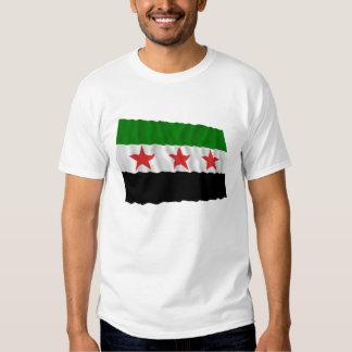 Syria Waving Flag (1932-1958 and 1961-1963) T-Shirt