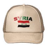 Syria Wavy Flag Hats