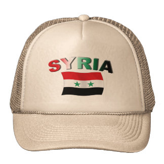Syria Wavy Flag Trucker Hat