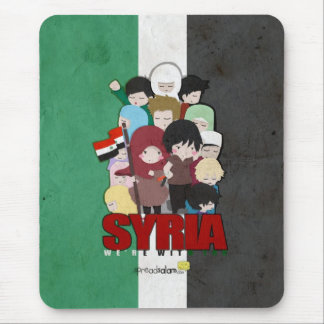 SYRIA - We're With You Mouse Pad