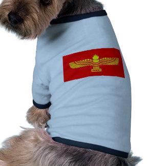Syriac Aramaic People, Syria flag Doggie Tshirt