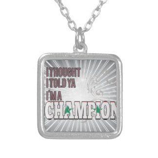 Syrian and a Champion Custom Necklace