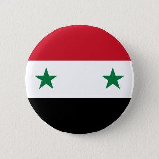 Syrian Arab Republic Flag - Flag of Syria Button