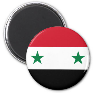 Syrian Arab Republic Flag - Flag of Syria Magnet