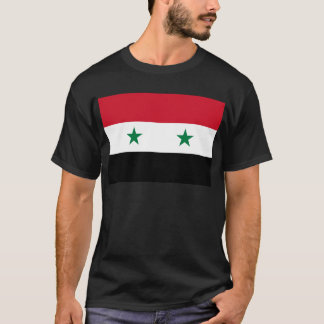 Syrian Arab Republic Flag - Flag of Syria T-Shirt