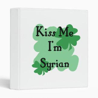 Syrian Vinyl Binder