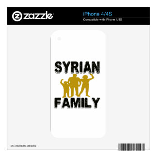 Syrian Family Skin For The iPhone 4S