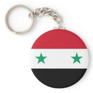 Syrian Flag Keychains