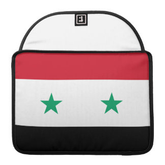 Syrian Flag Sleeve For MacBook Pro