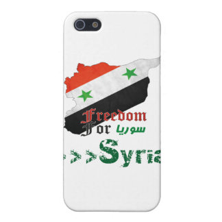 Syrian Freedom Case For iPhone SE/5/5s