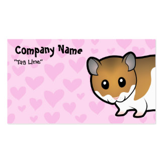 Syrian Hamster Love Business Card