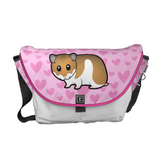Syrian Hamster Love Courier Bag