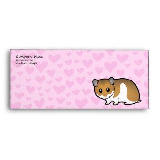 Syrian Hamster Love Envelope