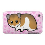 Syrian Hamster Love iPhone 3 Case-Mate Cases