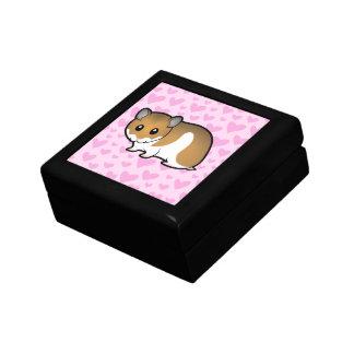 Syrian Hamster Love Jewelry Box