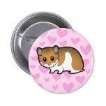 Syrian Hamster Love Pins