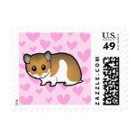 Syrian Hamster Love Stamp