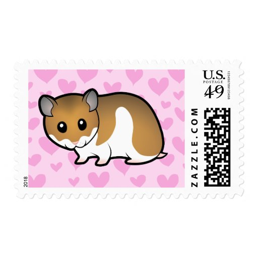 Syrian Hamster Love Stamps