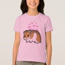 Syrian Hamster Love T-Shirt