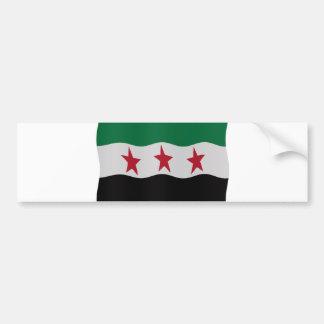 Syrian Republic Flag 1932-59 1961-63 Bumper Sticker