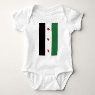 Syrian Revolutionary Flag Baby Bodysuit