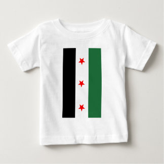 Syrian Revolutionary Flag Baby T-Shirt