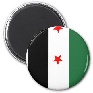 Syrian Revolutionary Flag Magnet