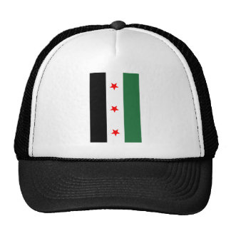 Syrian Revolutionary Flag Trucker Hat