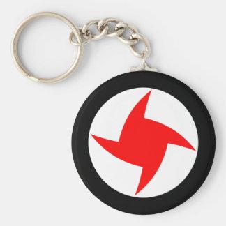 Syrian Social Nationalist Party, Syria flag Basic Round Button Keychain