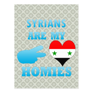 Syrians are my Homies Post Cards