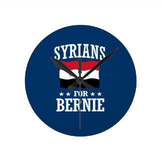 SYRIANS FOR BERNIE SANDERS ROUND CLOCK