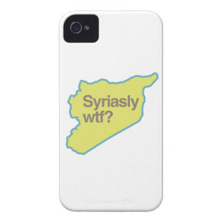 SYRIASLY WTF.png Case-Mate iPhone 4 Case